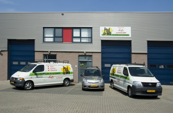 Locatie Paul de Wit internet plafonds