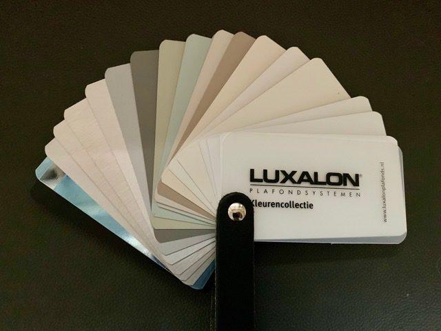 Aluminium Plafond kleurenwaaier luxalon