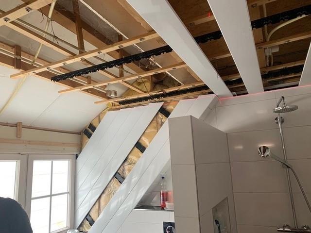 Aluminium luxalon plafond montage