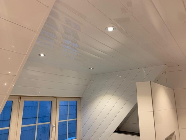 Aluminium Plafonds monteren Plafond Montage